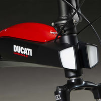 Estas tres nuevas bicicletas eléctricas plegables de Ducati con hasta 80 km de autonomía completan el catálogo de ebikes