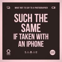 Igualita que hecha con un iPhone