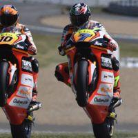 Lorenzo Baldassarri y Luca Marini renuevan con el Forward, blindada la VR46 Academy en Moto2