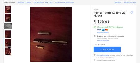Pistola Pluma Ciudad De Mexico Mercado Libre