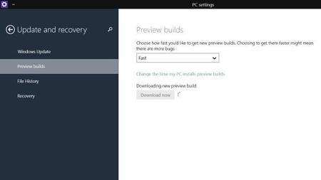 Solo el 10% de los usuarios de Windows 10 Technical Preview han cambiado al anillo rápido de actualizaciones