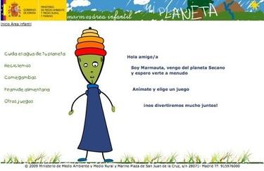 Mi Planeta, web de educación ambiental para niños
