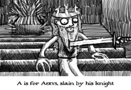 ¿Y si Edward Gorey hubiera escrito 'Juego de tronos'?