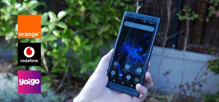 ¿Dónde comprar el Sony Xperia XZ2 más barato? Comparativa de precios a plazos con operadores