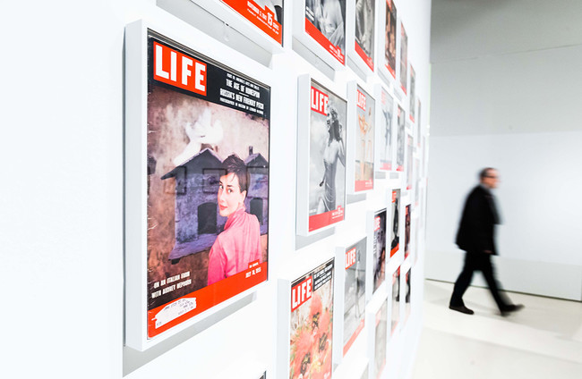Detalle De La Exposicion I Philippe Halsman Sorprendeme I En Caixaforum Madrid