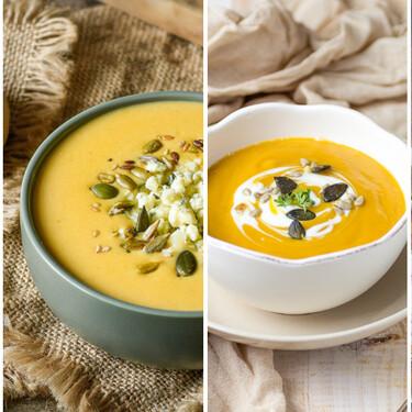Las 11 mejores recetas de cremas y purés de calabaza para aprovechar este fantástico ingrediente del otoño
