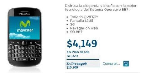BlackBerry Bold 9900 - Movistar México