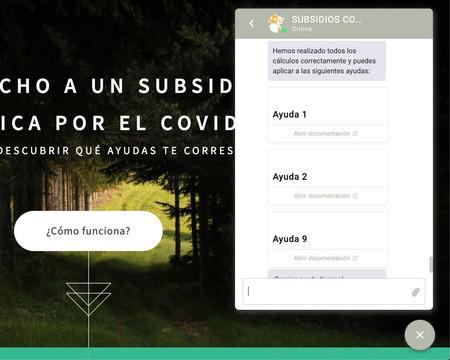 Subsidios Coronavirus Espana
