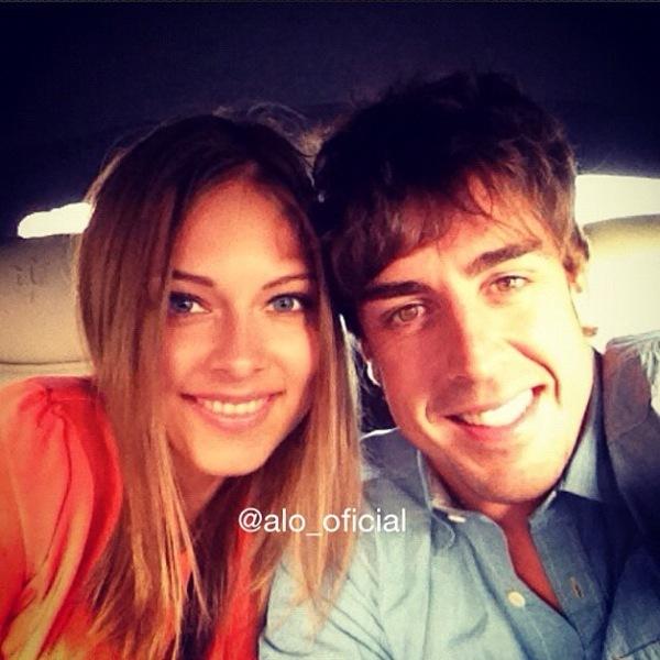 Foto de Fernando Alonso no ganará el mundial, pero el y Dasha son los reyes de Instagram (5/5)