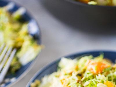 Paseo por la gastronomía de la red: recetas de ensaladas para una dieta balanceada