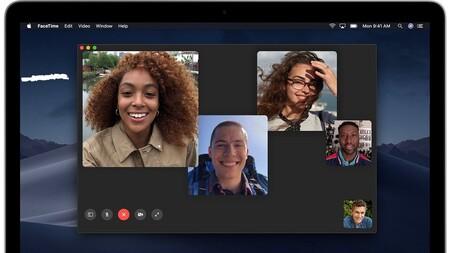 Así podemos ver todos los participantes de una llamada FaceTime en grupo del mismo tamaño