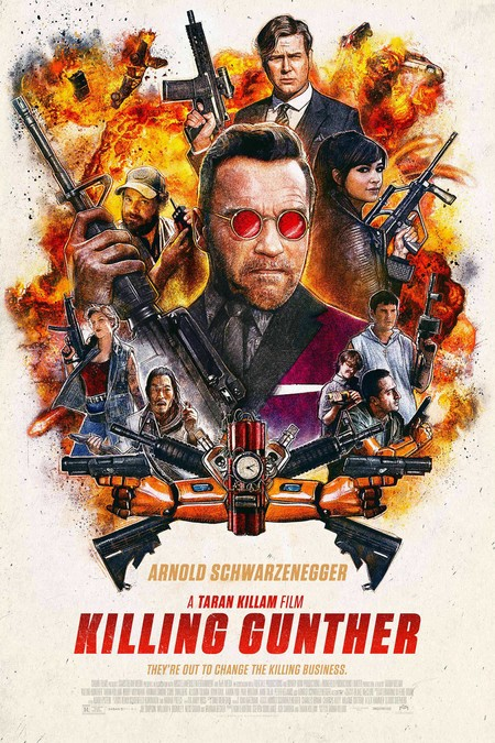 Killing Gunther Theatrical Poster