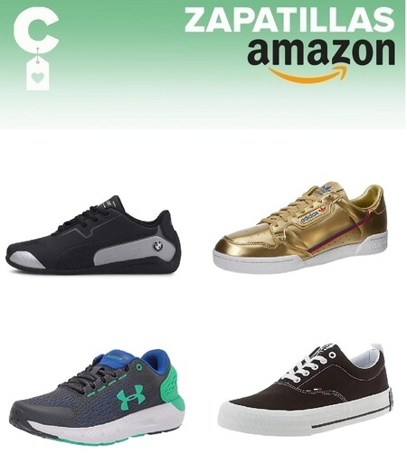 Chollos en tallas sueltas de  zapatillas Tommy Hilfiger, Puma o Adidas en Amazon