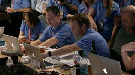 Los Macs que ayudaron a la NASA a poner el rover Curiosity sobre la superficie de Marte