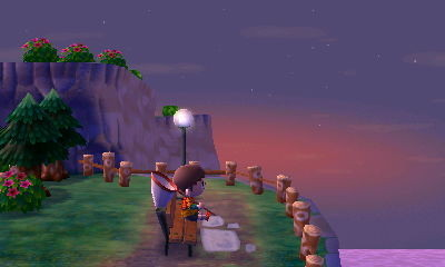 Animal Crossing New Leaf amanecer