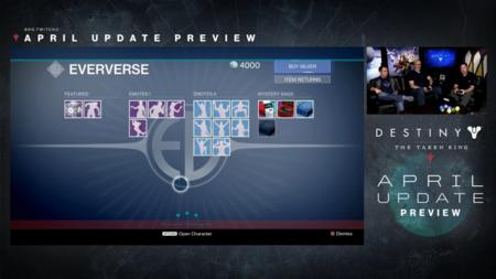 Destiny Actualizacion De Abril 1