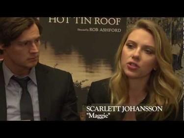 Scarlett Johansson ya lo está petando en Broadway a lo 'gatita sobre el tejado'