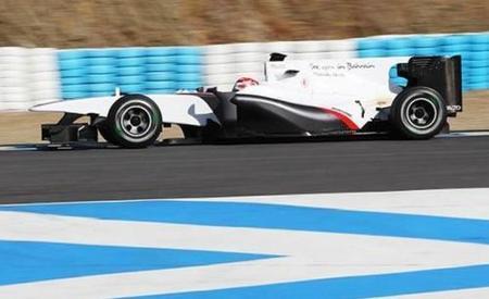 Kamui Kobayashi marca el mejor tiempo del segundo día