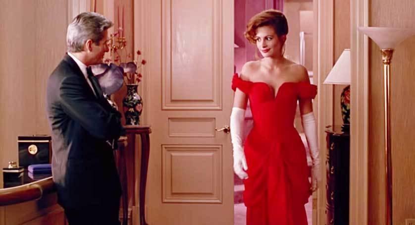 Moderno Vestido Rojo De La Dama De Honor Componente - Colección del ...
