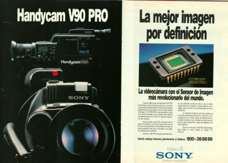 Anuncio Handycam 1988