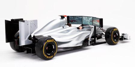 Simulador Fórmula 1 con coche a tamaño real, la experiencia racing virtual definitiva