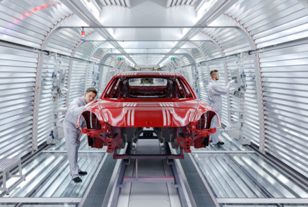Porsche Panemera pintura
