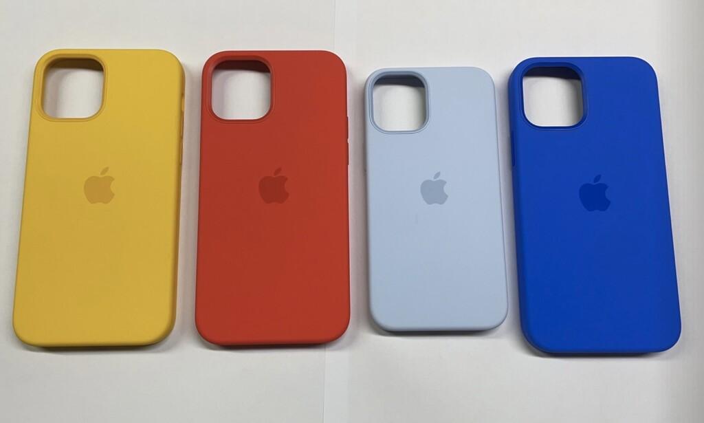 Aparecen fotografías con aún mas recientes colores para las fundas de los iPhone doce