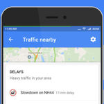 Google Maps añade un acceso directo para ver el tráfico en nuestro alrededor