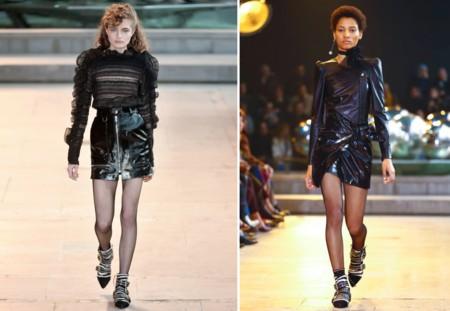Isabel Marant Fw 2016 Patent Leather Skirt