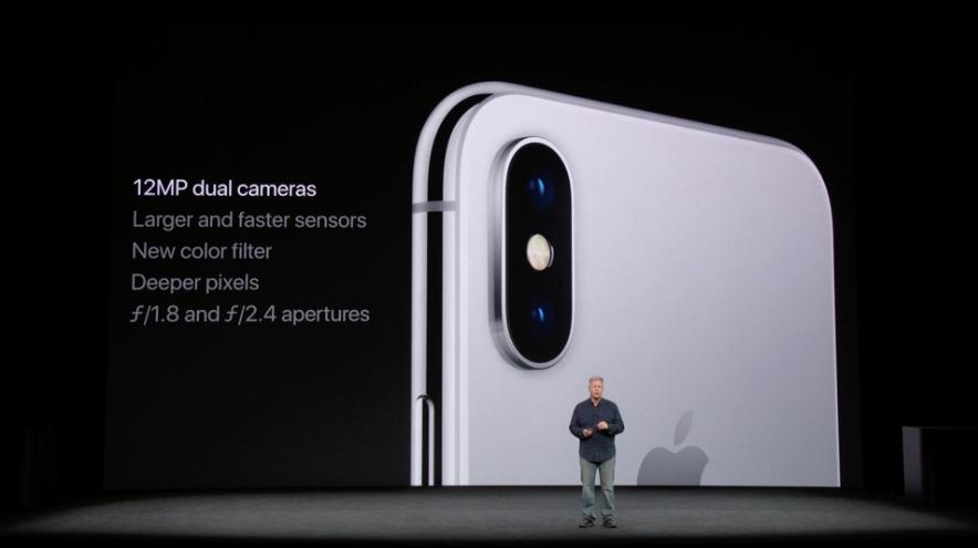 camera iPhone x