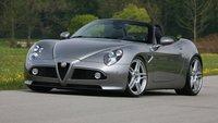 Alfa Romeo 8C Spider, puesta a punto cortesía de Novitec