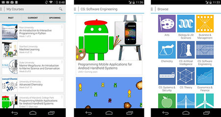 Coursera en Android