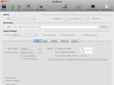 Handbrake se actualiza con soporte de 64 bits