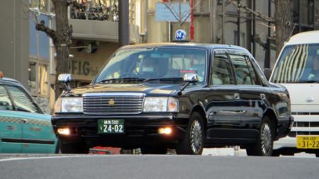 En 20 años, los taxis de Japón solo han cambiado en una cosa