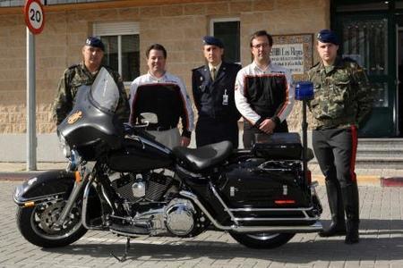 La Guardia Real sigue con Harley-Davidson