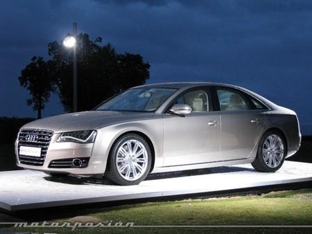 Audi A8, presentación en Marbella (parte 1)