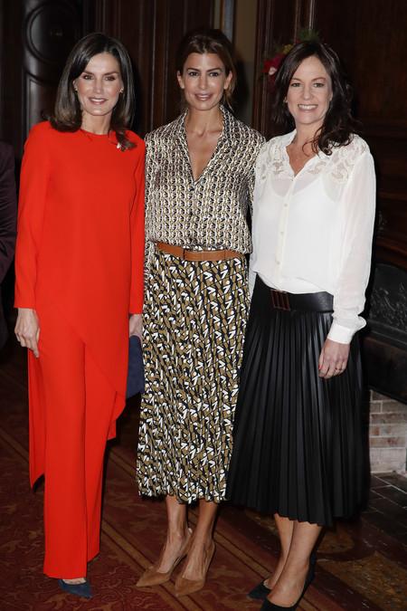 Naty Abascal y la Reina Doña Letizia más unidas que nunca, este es el look de Zara que ha enamorado a los iconos de nuestro país