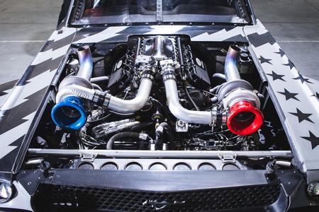 El Ford Mustang Hoonicorn V8 de Ken Block tiene dos turbos y 1.400 CV en versión 2.0