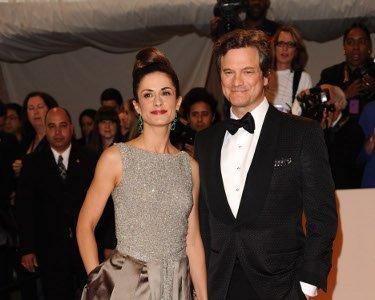 El look de Colin Firth en la gala MET 2011