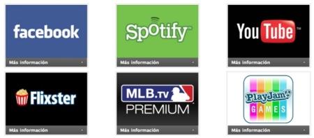 servicios aplicaciones discos duros multimedia