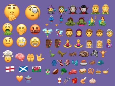 Estos son los 56 nuevos emojis que llegarían a iOS a finales de 2017