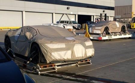 11 segundos de video y 2 nuevas imágenes del supuesto Bugatti Chiron