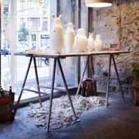 La M-Store de Moritz se viste de blanco de la mano de los mejores artistas en cerámica