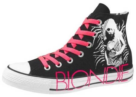 Las Converse de Blondie para la primavera 2010
