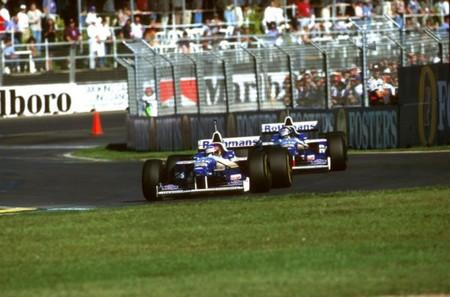 Jacques Villeneuve Australia 1996