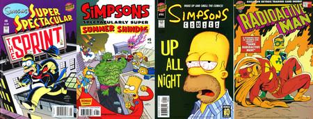 Los mejores cómics de los Simpson