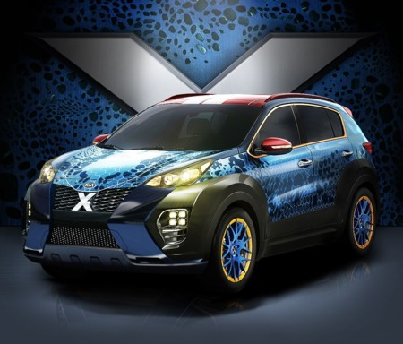KIA X-Car, el modelo inspirado en la nueva película X-Men: Apocalypse
