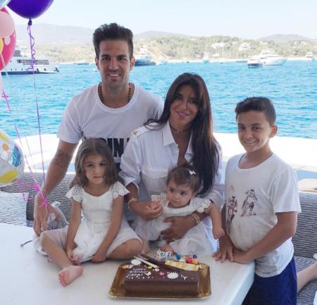 Ya tenemos a los Messi y los Fábregas de vacaciones en Ibiza