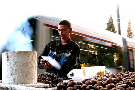Sevilla tiene un olor muy especial - castañas