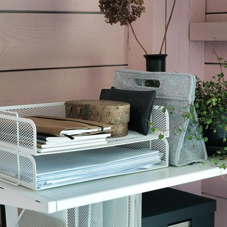 Ikea bandeja para organizar escritorio